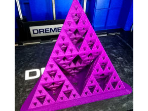 Yet another fractal tetrahedron