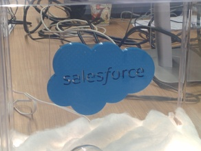 Salesforce Logo (with hangers)