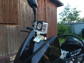 Action Camera Holder, Clip, Fitting.
