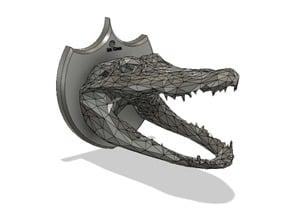 Low poly croc trophy (Mr. Croc)
