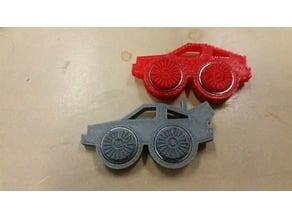 DeLorean Time Machine Fidget Spinner