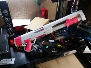 Spring Thunder - Shell Ejecting Foam Dart Blaster (WIP)