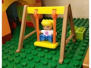 Swing for LEGO Duplo figures