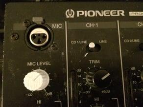 Pioneer Mixer Knob