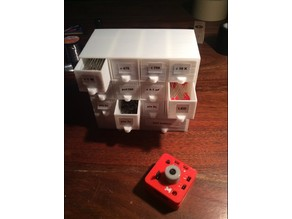 Storage Drawers for miniMO synth parts