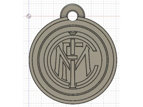 Inter Milan Keychain