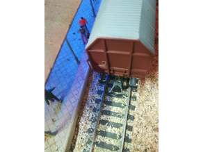 H0 Respingente compatibile Roco, Train buffer Roco compatible