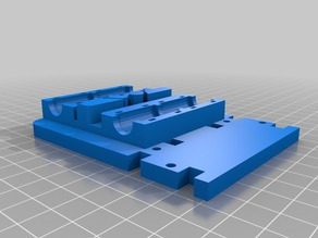 Prusa i3 type mount for MakerFarm backplate