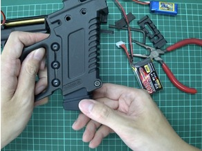 SLONG AIRSOFT G-KRISS XI Battery Cover
