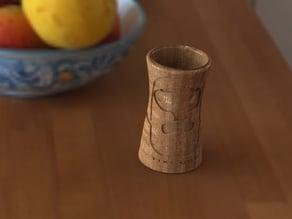 Abstract Tiki Cup