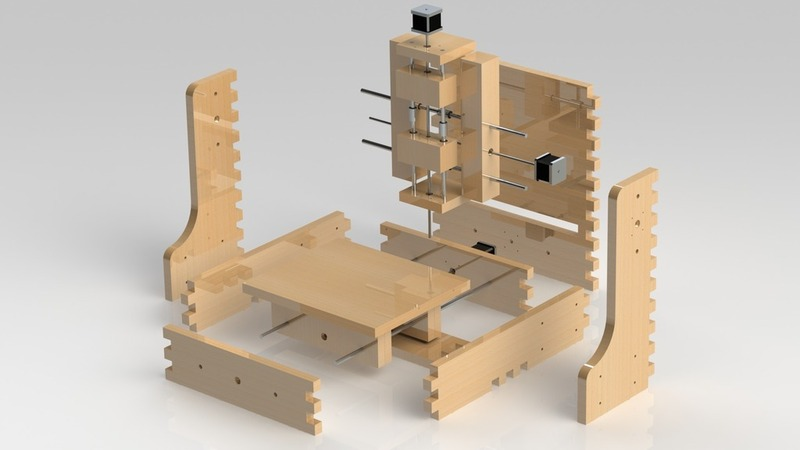 Image Of Desktop Cnc 3d Printer Concept Thingiverse