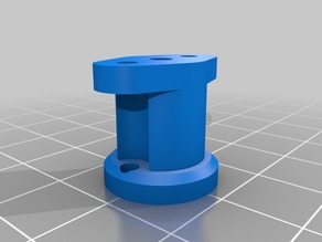 Mosquito Hot End Groove Mount Adapter - Titan Extruder