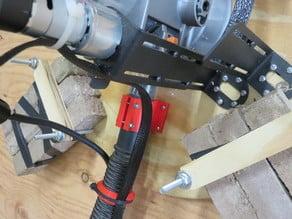 Maslow vacuum hose holder