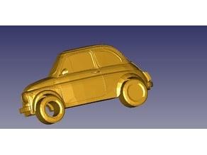 Fiat 500 Keychain / Llavero Seat 600