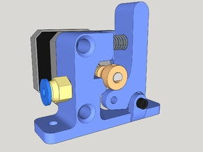 Super Bernis simple MK8 bowden extruder
