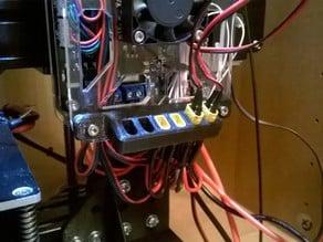 Tevo Tarantula power distribution holder / cable management