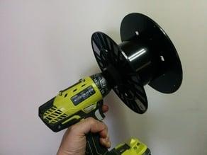 Filament roll to drill adapter (1kg 50mm ID-roll)