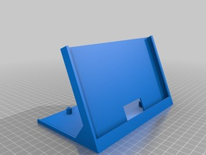 7 Inch LCD stand  with logic board slot
