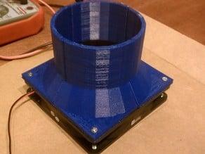 Makerbot 12cm Exhaust Fan Adapt