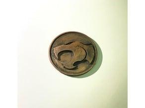 Thundercats Logo Coin / Badge