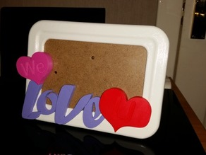 Modern Love picture frame