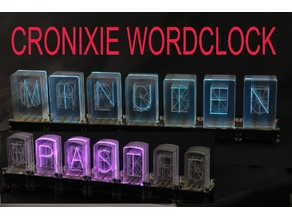 CRONIXIE the Wordclock