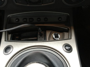 Aux Plate for BMW vehicles