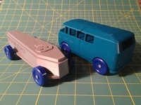 3D Printed Nerdy Derby Cars - Maker Faire NY