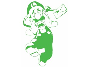 Luigi stencil 2