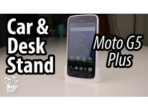 Car and Desk Stand for Moto G5 Plus (Portrait)