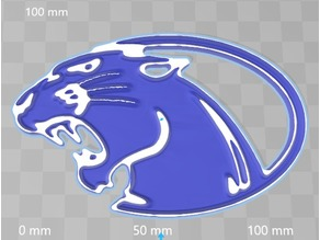 York College Panthers token