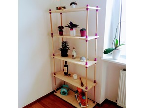 Screw Shelving System
