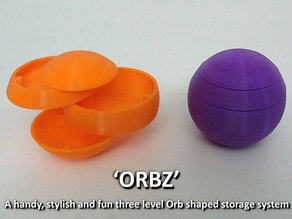 ORBZ -  A mutli-layerd orb shaped storage solution