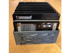 Dominion promo card box with logo