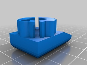 2020 extrusion cap with LED