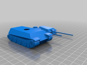 Panzer V Panther [German Medium Tank] (w/ Jagdpanther top)
