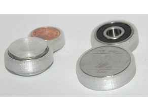 yacs one arm compact coin fidget toy