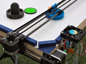 Air Hockey Robot (an OPEN SOURCE 3D printer hack)