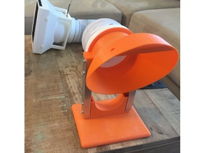 Fume Fan with filter, hose and LED