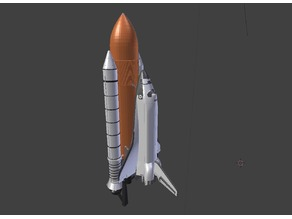 space shuttle (dual extrusion)