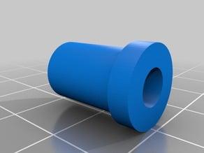 RepRap Prusa i3 acrylic frame Z axis rod insert