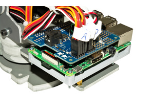 Arduino to Raspberry Pi Adapter for Robotic Arm