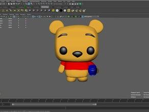Winnie the Pooh (based on Funko Pop figure)
