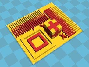 Dual Extruder Sub Millimeter Calibration