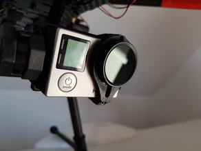 Tarot T4-3D mount for GoPro with ND Filter 32mm