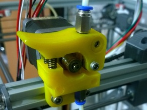 Rhino 3dp easy and strong extruder with mk7.