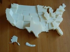United States Electoral Vote Map