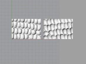 Molds of corn texture