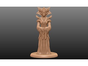 Supportless Head Enchantress - Tabletop Miniature