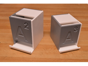 AA and AAA Snap-Together Battery Dispensers